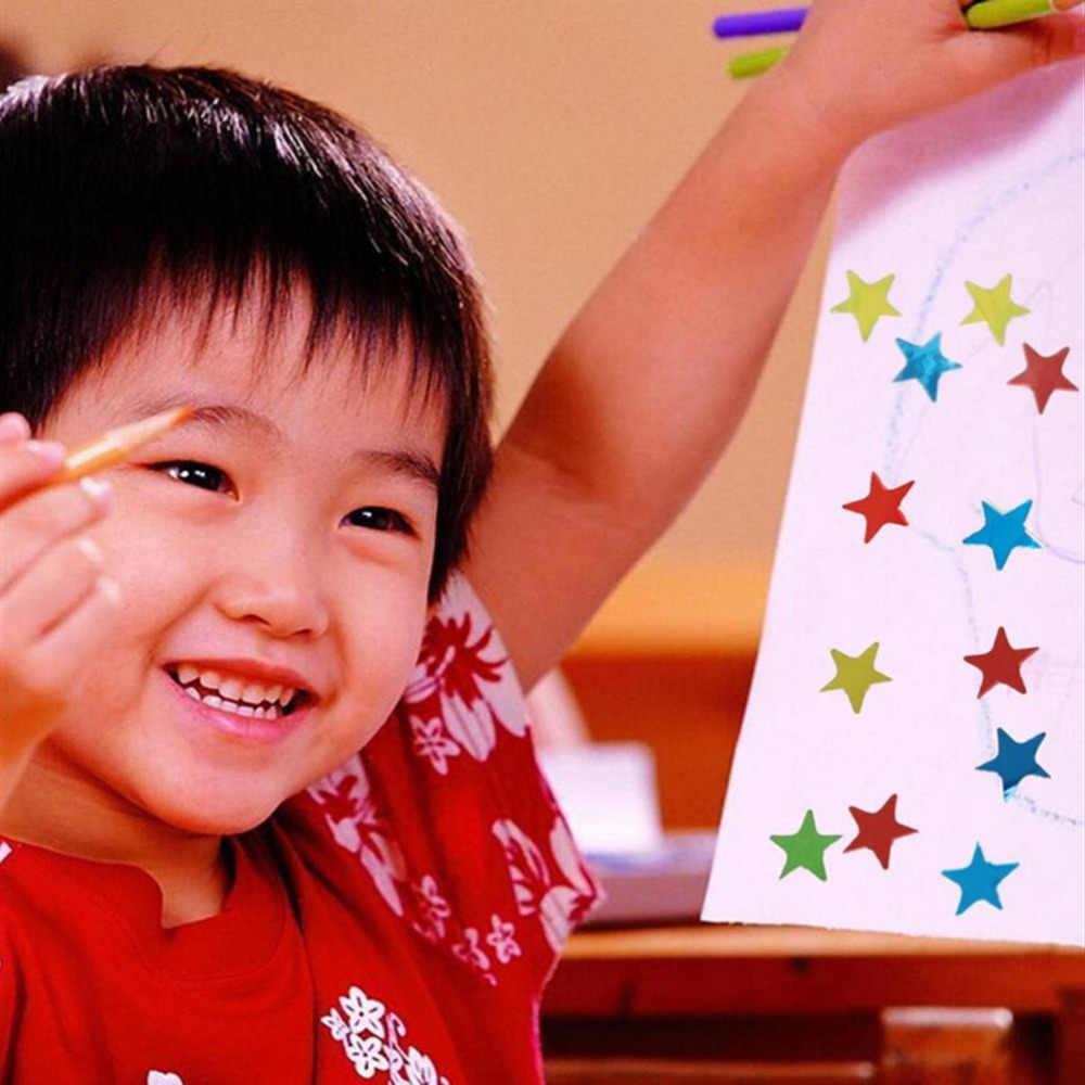 10/blatt Stern Form Aufkleber Nette Lehrer Belohnung Aufkleber Geschenk Kindergarten Kind Hand Körper Aufkleber Spielzeug Etiketten Für Schule kinder