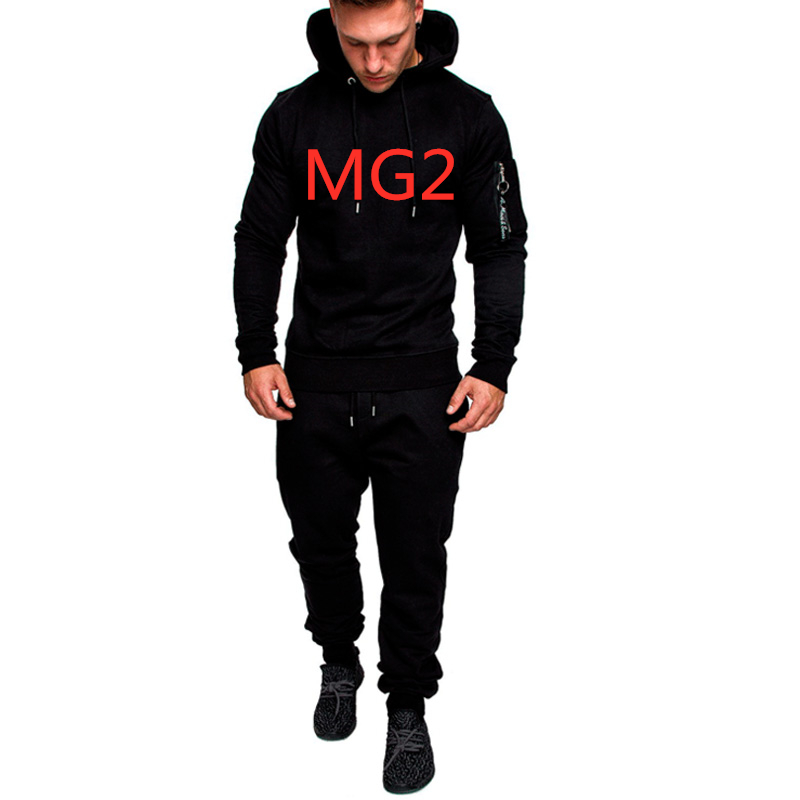 MG2 Men's Hoodies Brand Car Logo Commission Spring Autumn Sportswear Suit Sweatshirts Man Jacket Tracksuits Solid Colors Outwear