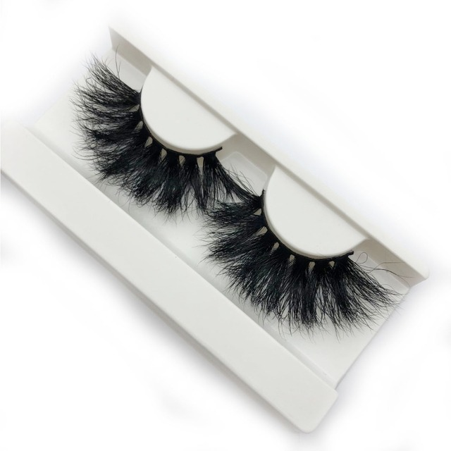 befe1d7fe00 Buzzme New arrival 3D mink lashes 25mm extra long mink strip fur handmade  eyelashes wholesale price