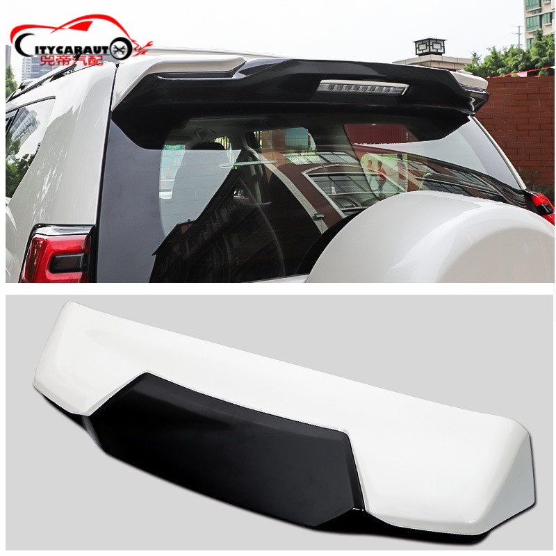 Ailes de becquet arrière modifiées accessoires AUTO extérieurs pièces adaptées pour PRADO 2010-2019 4X4 pièces de SPOILERS arrière
