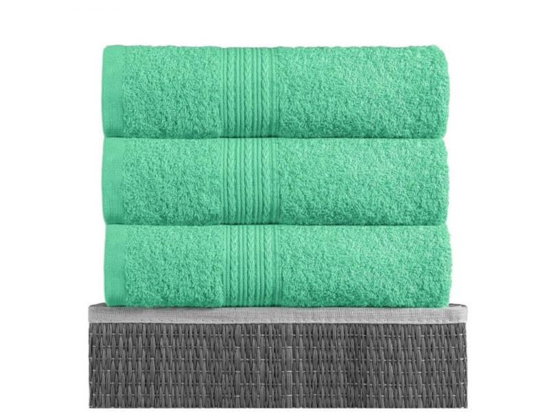 Towel for body BAYRAMALY, 70*140 cm, light green towel beach ethel 70 140 cm sandals for women summer shoes жёлтом microfiber 250гр m2 3936324