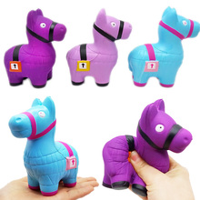 Loot Llama Squishies Alpaca Squishy Slow Rising Squeeze Keychain Christmas Toys For Children Gifts Battle Roayle Game