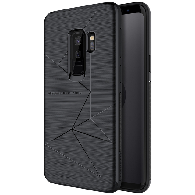promo code 0878b 9f1e5 US $9.99 30% OFF|Luxury Soft Back Case for Samsung Galaxy S9 Plus  Case,Nillkin QI Wireless Charging Receiver Cover for Galaxy S9 Magnetic  Holder-in ...