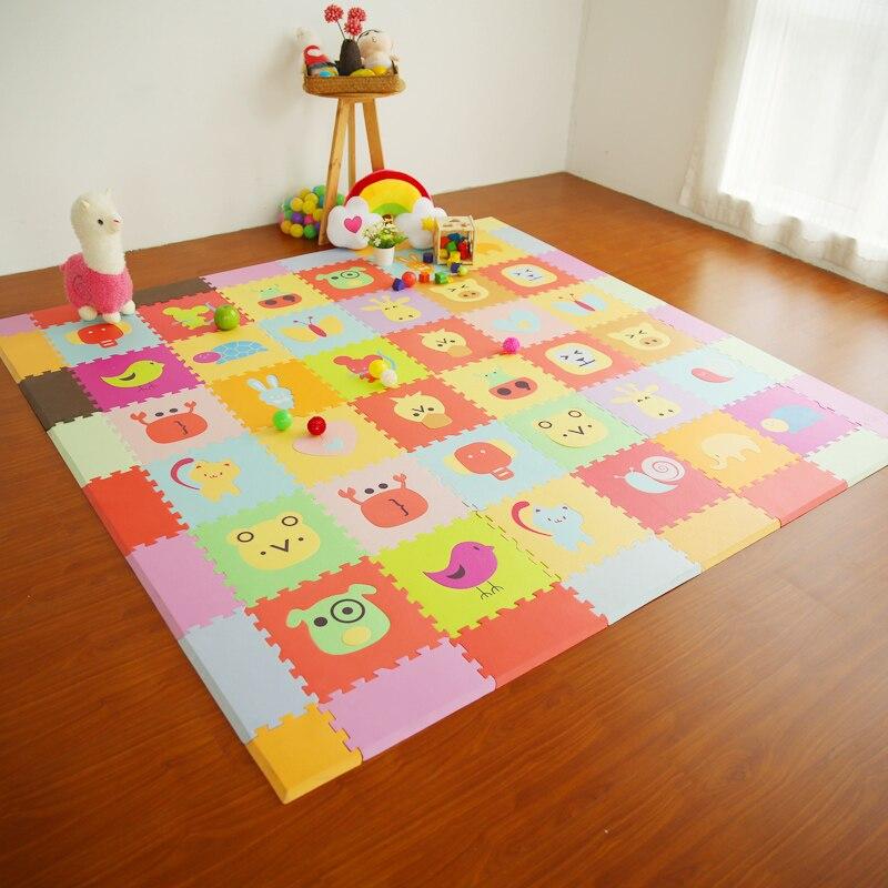 Baby Play Mat Stitching Foam Interlocking Floor Tiles Exercise Gym