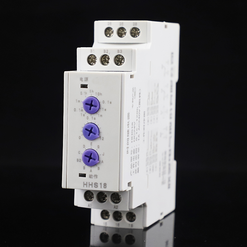 Multi-function Time Relay HHS18 High quality HHS18 1pcs AC 220V 2 contact points Multifunction din rail Timer Relay Switch цена