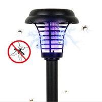 Işıklar ve Aydınlatma'ten Sivrisinek Katili Lambalar'de IP65 Su Geçirmez Sivrisinek Katili Lamba Güneş Enerjisi Açık Bahçe Çim Haşere Kontrolü Anti sivrisinek Sinek böcek tuzağı Böcek Tuzağı ışığı