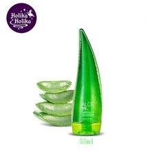 HOLIKA HOLIKA Aloe 99% Soothing Gel 55ml Aloe Vera Gel Skin Care Face Cream Acne Treatment Anti Winkle Whitening Moisturizing цена