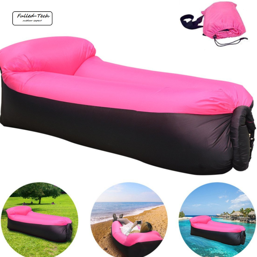 Inflatable Lounger Chair with portable carry bag for various uses lazy bag air sleeping bag outdoor lazy sofa air couch hammock