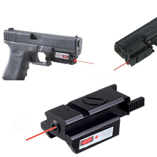 Tactical Gear Mini Red Dot Laser Sight Military Handgun Pistol For 20mm Rail Hunting Lase
