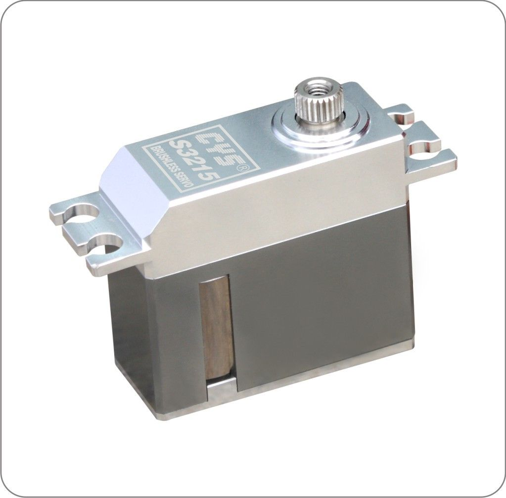 1pcs 6.0-7.4V CYS-S3215 Metal Digital Coreless Gear Servo 10KG Torque jx servo pdi 6115 mg kg 15 large torque torque metal gear steering gear digital hollow cup standards