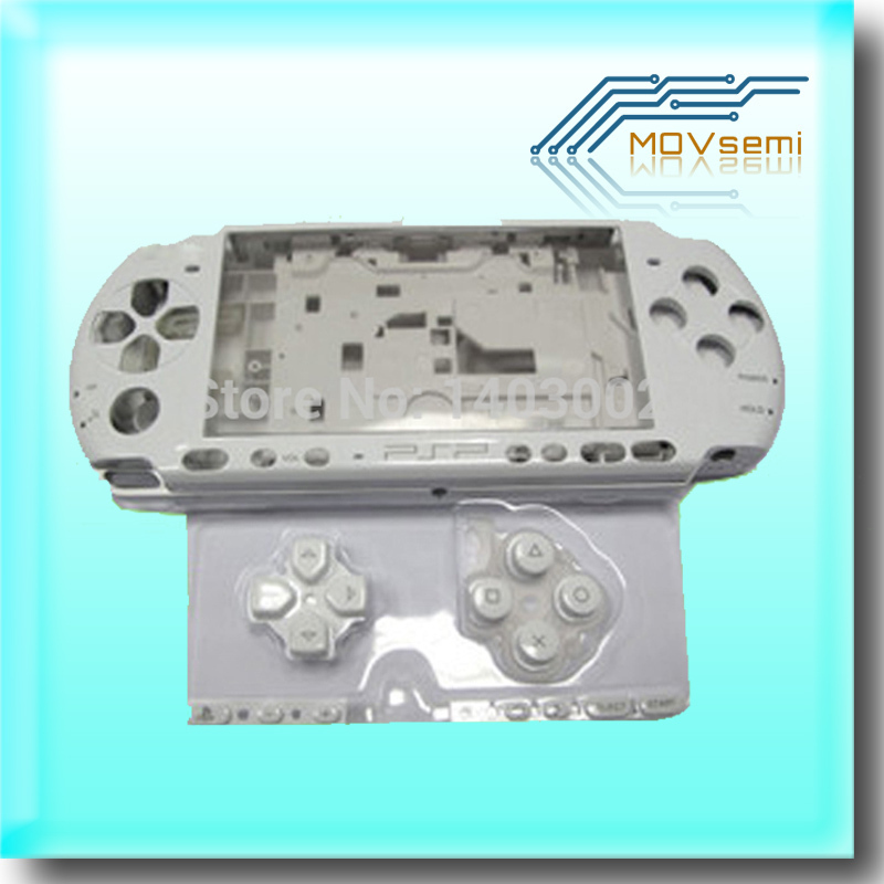 Image 2 - Free shipping For PSP3000 PSP 3000 Shell Old Version Game Console replacement full housing cover case with buttonspsp 3000psp replacementpsp 3000 shell -