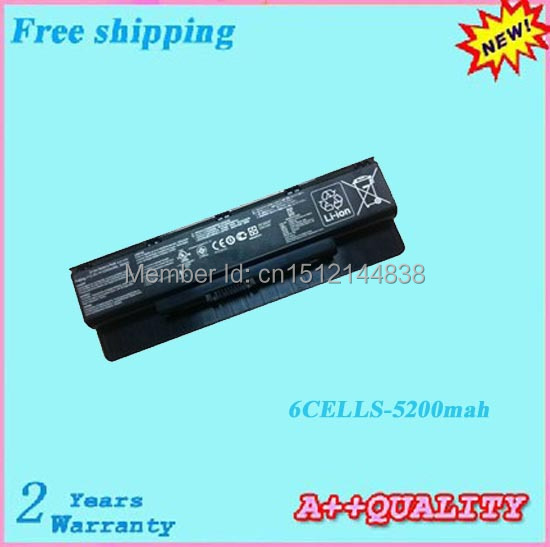 5200mah N56 A32-N56 Laptop Batteries For ASUS A31-N56 A33-N56 10.8V