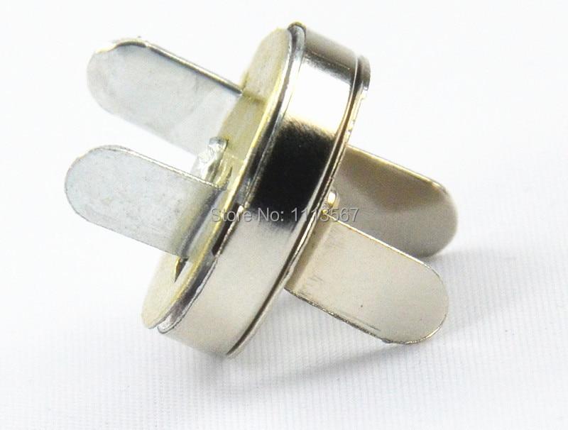 b923454a7346 ᐂ50 piezas de artesanía de Metal magnético de plata broches Clips ...