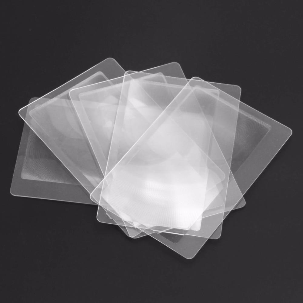 10vnt. Padidinamojo stiklo objektyvas Skaidraus stiklo kortelė 3x - Matavimo prietaisai - Nuotrauka 4