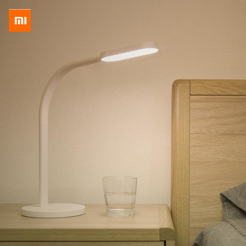 Original Xiaomi Yeelight Mijia LED Desk Lamp Smart Folding Touch Adjust Reading Table Lamp Bright Night