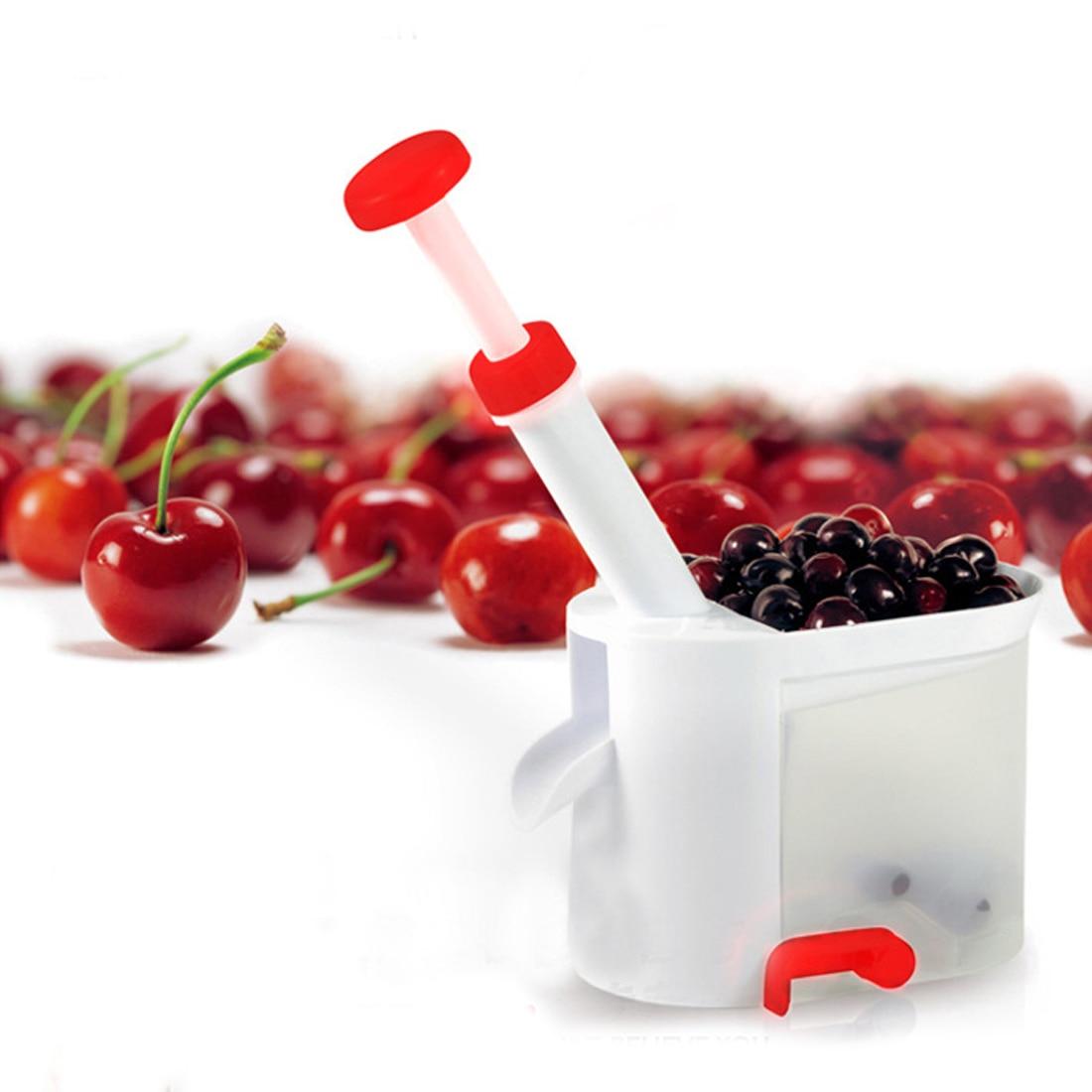 Legjobb eladás Cseresznyemagos mag eltávolító gép Cseresznyemagos tartályos konyhai eszközöket tartalmazó eszköz