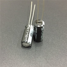 10pcs 820uF 6.3V NICHICON VY Series 6.3x15mm Wide Temperature Range 6.3V820uF Aluminum Electrolytic Capacitor