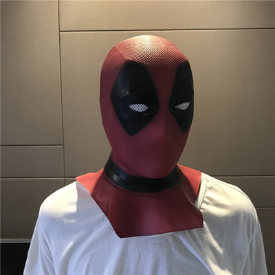 Deadpool 2 Deadpool Masks Halloween Cosplay Costume Props Superhero Movie Latex Mask Collectible Toys Full Face Mask