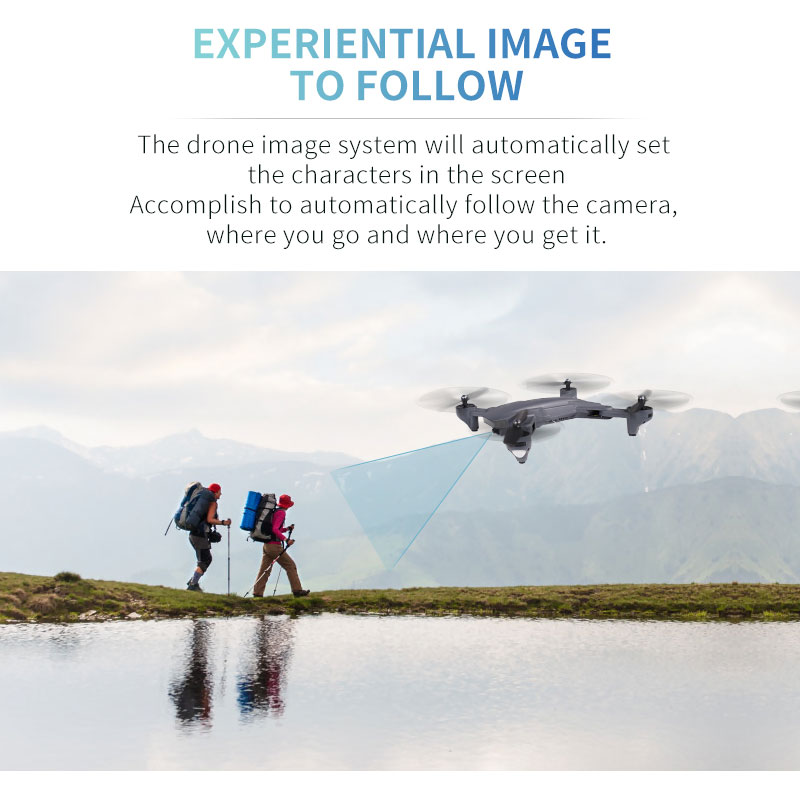 Visuo XS816 Drone with 50 Times Zoom WiFi FPV 4K Dual Camera Optical Flow Quadcopter Foldable Selfie Dron VS SG106