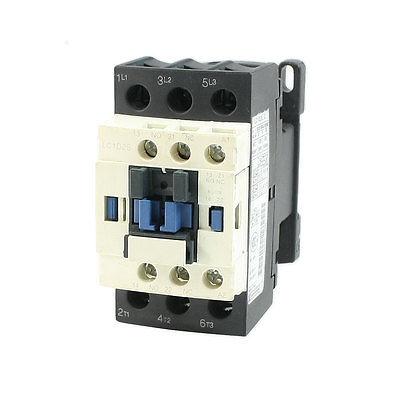 LC1D25 AC Contactor 110V 50/60Hz Coil 3-Pole NO NC замыкатель ux motor lc1d09 ac 110 50 60 3 nc