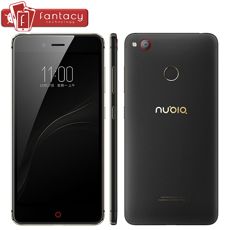 "bilder für Original Nubia Z11 Mini S 4 GB RAM 64 GB Snapdragon 625 Octa Core Fingerabdruck ID 23.0MP FDD LTE 4G 5,2 ""FHD 1080 P Handy"
