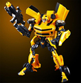 Genuine 55cm Bumblebee Transformation Toys Optimus Prime Robots Model Movie 4 Diamond Classic Toys Action Figures Robot Car