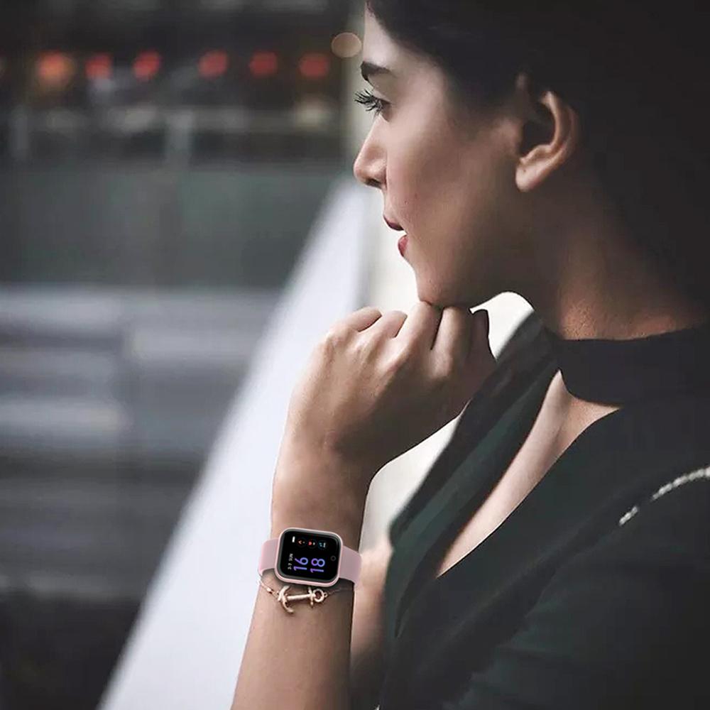Reloj inteligente impermeable T80 Bluetooth 14