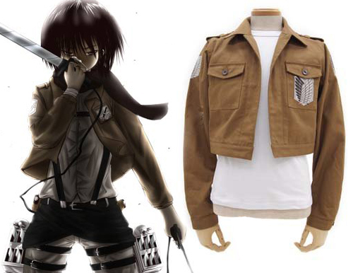 Free Shipping Attack on Titan The Recon Corps Wings of Freedom Boy's Jaket Anime Cosplay Costume