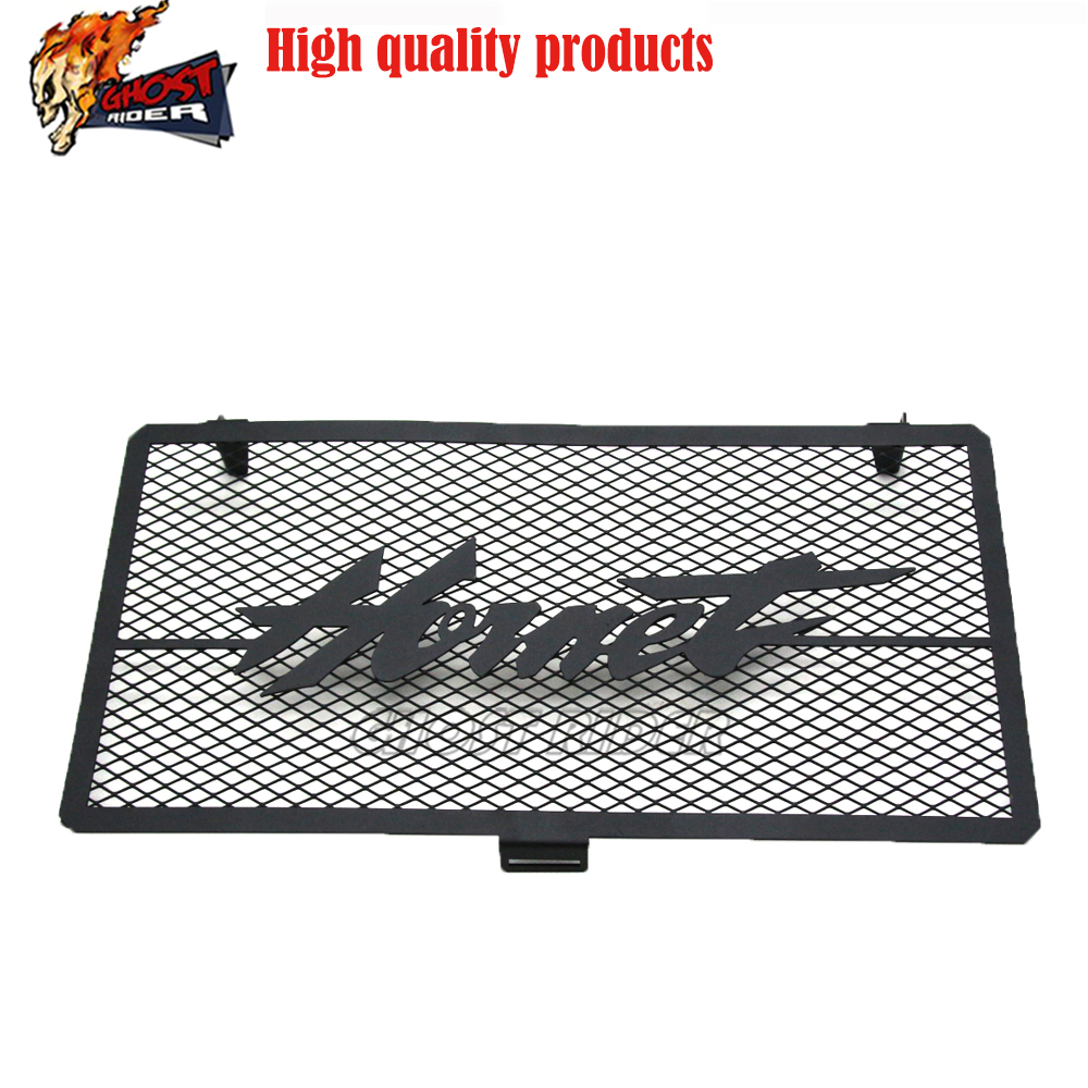 For HONDA <font><b>Hornet</b></font> <font><b>600</b></font>/CB600 Radiator Grille Guard Cover Fuel Tank Protection Net 1998 1999 <font><b>2000</b></font> 2001 2003 2004 2005 2006 image