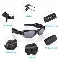 New Outdoor Recording Camera Sunglasses Bluetooth 4 0 1080P HD Video Recorder Photograph Polarized Glasses Protective