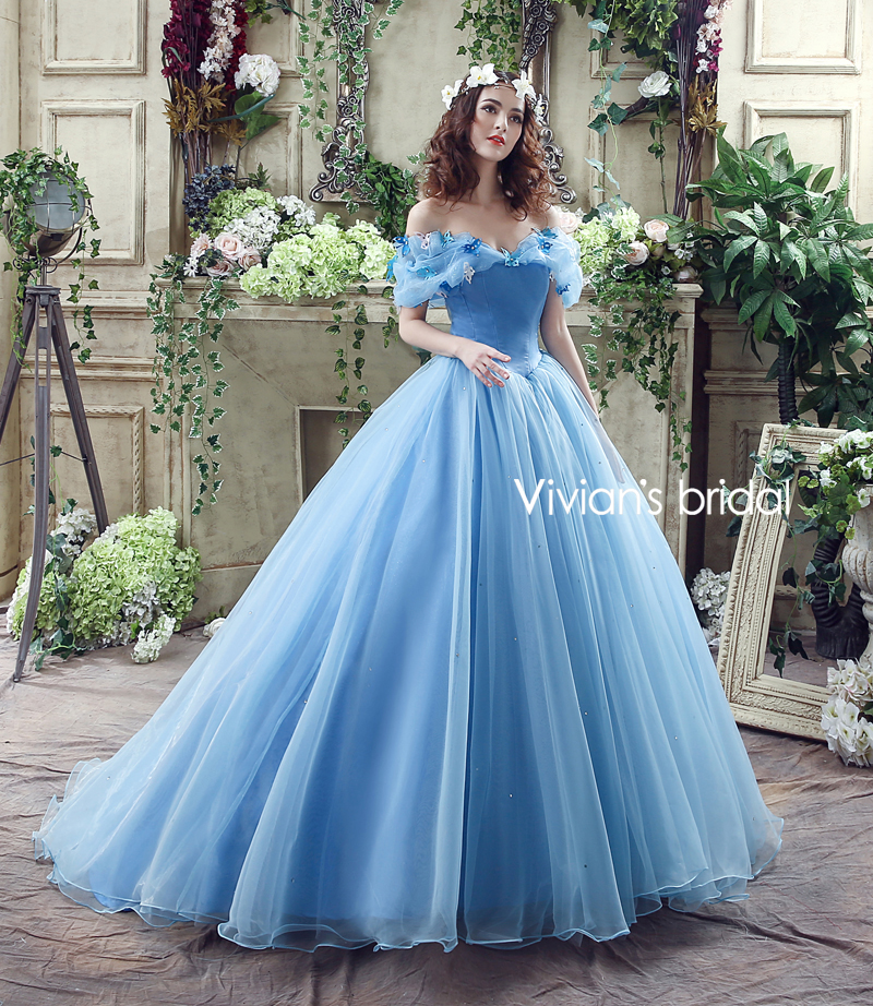 Beautiful Cinderella Ball Gown Wedding Dresses Photos - Styles ...