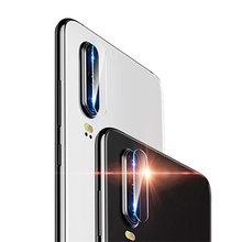 For Huawei P30 Pro P20 Camera Lens Protector Soft Tempered Glass for Huawei Mate 10 20 Lite X Phone Case Cover Film(China)