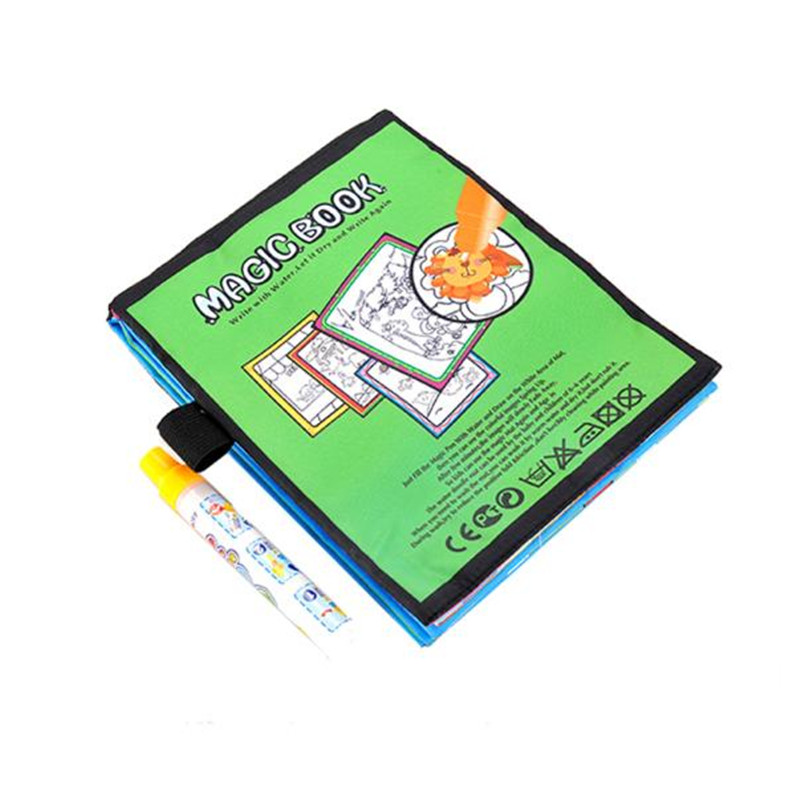 YIQU-10pages-Funny-Water-Drawing-Book-Coloring-Book-Magic-Pen-Animals-Painting-drawing-toys-coloring-books-for-kids-Super-Deal-1