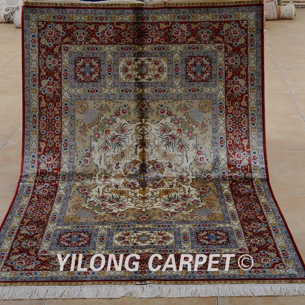 Yilong 4 X6 Traditional Handmade Carpet Vantage Fine Oriental Rugs