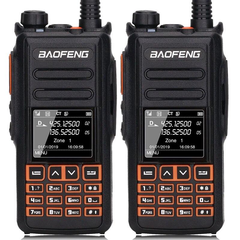 2 sztuk BaoFeng DM X DMR cyfrowe walkie talkie GPS nagrywanie głosu VHF UHF dual band ulepszony z DM 1702 DM 1701 DM 1801 dwukierunkowy radio w Krótkofalówki od Telefony komórkowe i telekomunikacja na AliExpress - 11.11_Double 11Singles' Day 1