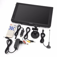 LEADSTAR 12inch Digital Home Television ATSC Portable TV 1080P HD HDMI Video Player For Car EU