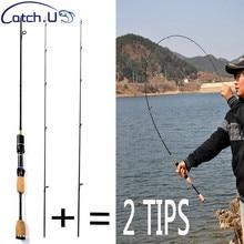 2 Tipps UL / L Spinning Rod 1,8 mt 0,8-5g Locken Gewicht 2-5LB Linie Gewicht Locken Karpfen Spinnrute
