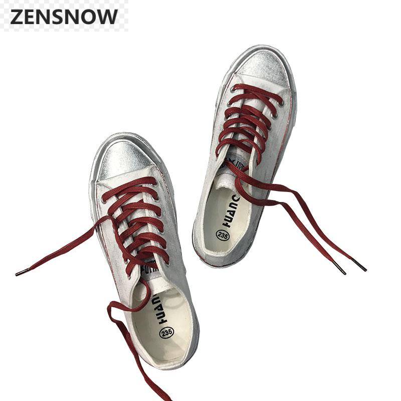 2018 New Fashion Personality All-match Spring And Summer White Canvas Shoes Comfortable Breathable Shoes Female Student Harajuku free shipping new spring and summer fashion men s denim jeans slim wear white pantyhose feet
