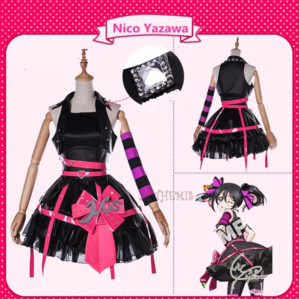 MMGG Anime Girls LoveLive Cosplay Costume  Women Dress Outfit Custom Made