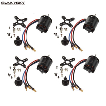 4set/lot Sunnysky X2216 880KV /1100KV /1250KV /2450KV Outrunner Brushless Motor For RC Airplane Dropship Wholesale