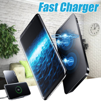 Qi Wireless Charger Charging Stand Dock + Type C Cable For iPhone X XR XS MaX 8 for Samsung For Smart Phone Devices