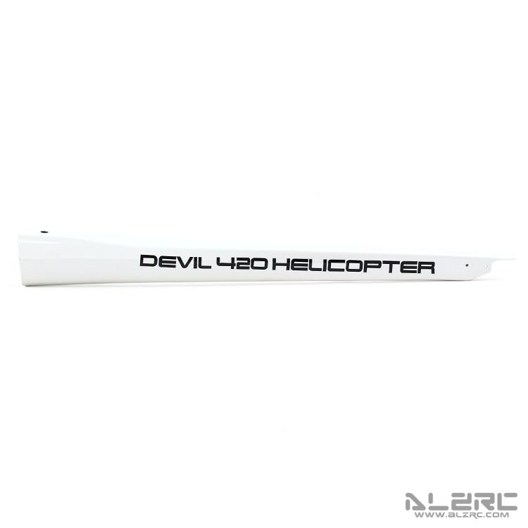 ALZRC - Devil 380 FAST Carbon Fiber Painting Tail Boom alzrc devil 380 fast carbon fiber body side plate 1 2mm d380f21 12