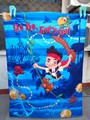 Bedding product boy baby quilt Little boy pirate cartoon Children quilt blanket