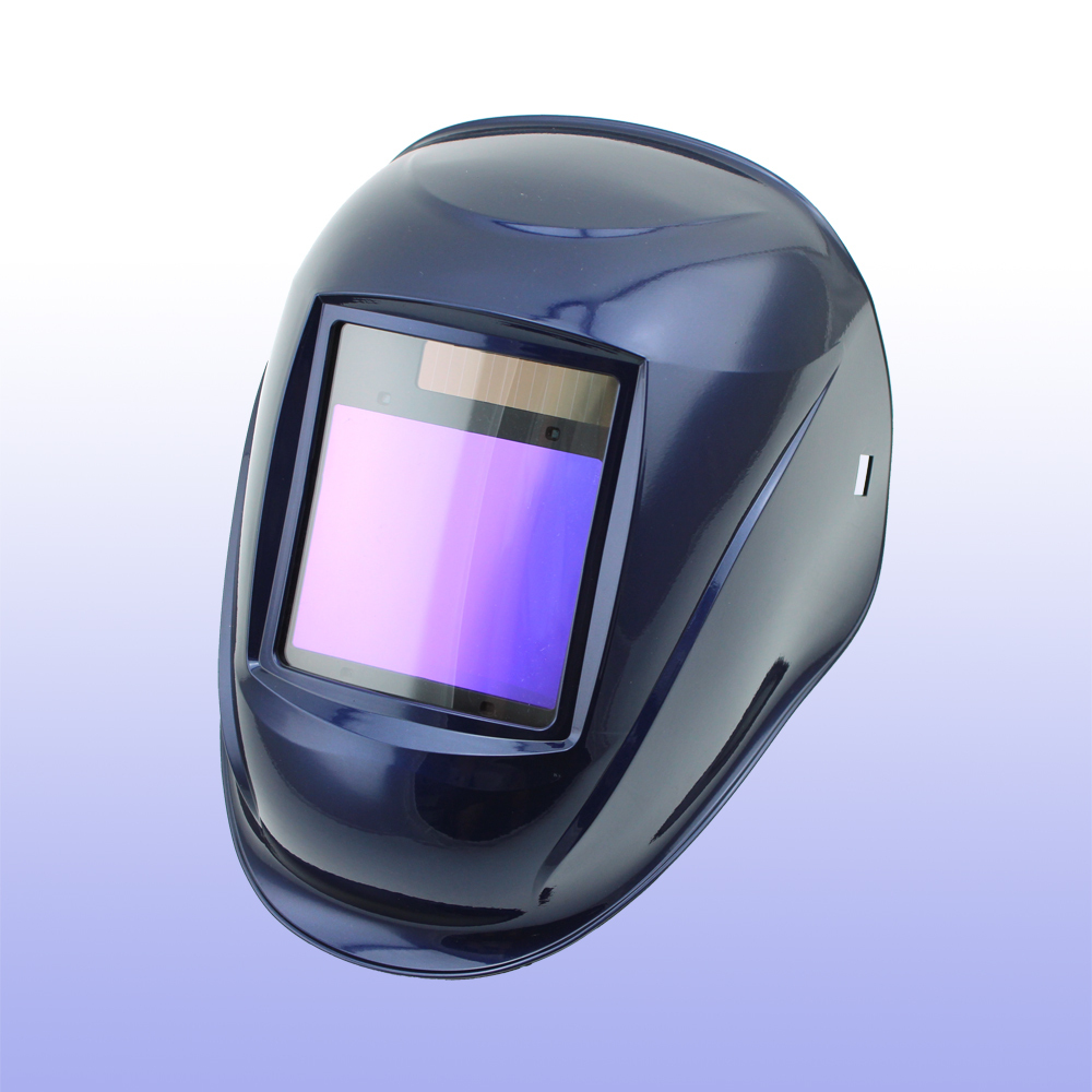 Auto darkening welding helmet/welding mask/MIG MAG TIG(Grand-918I BLUE)/4arc sensor/DIN4/5-8/9-13 din7 din12 shading area solar auto darkening welding helmet protection face mask welder cap for zx7 tig mig welding machine