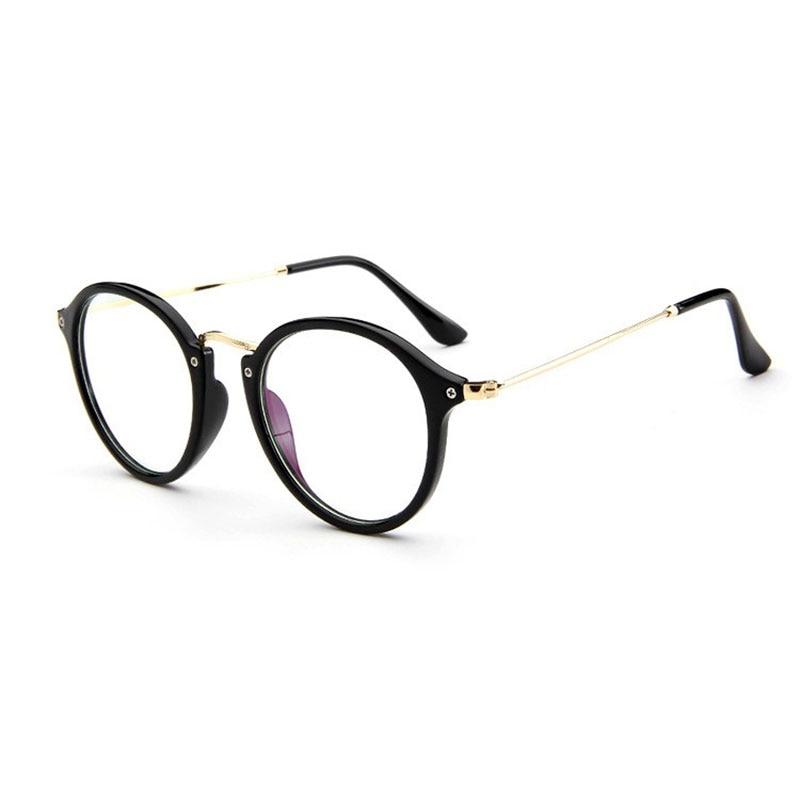 Divat női Retro kerek Relax olvasás szemüvegkeret Anti-sugárzás női Számítógép szemüveg okulos de grau feminino gafas