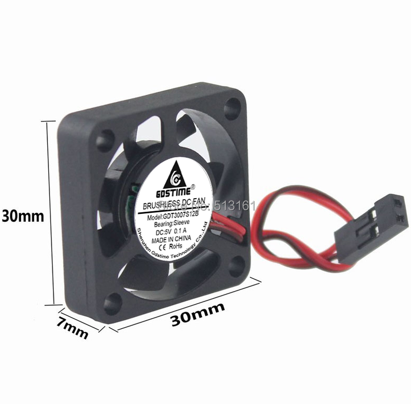 5V dupont 30mm fan 5