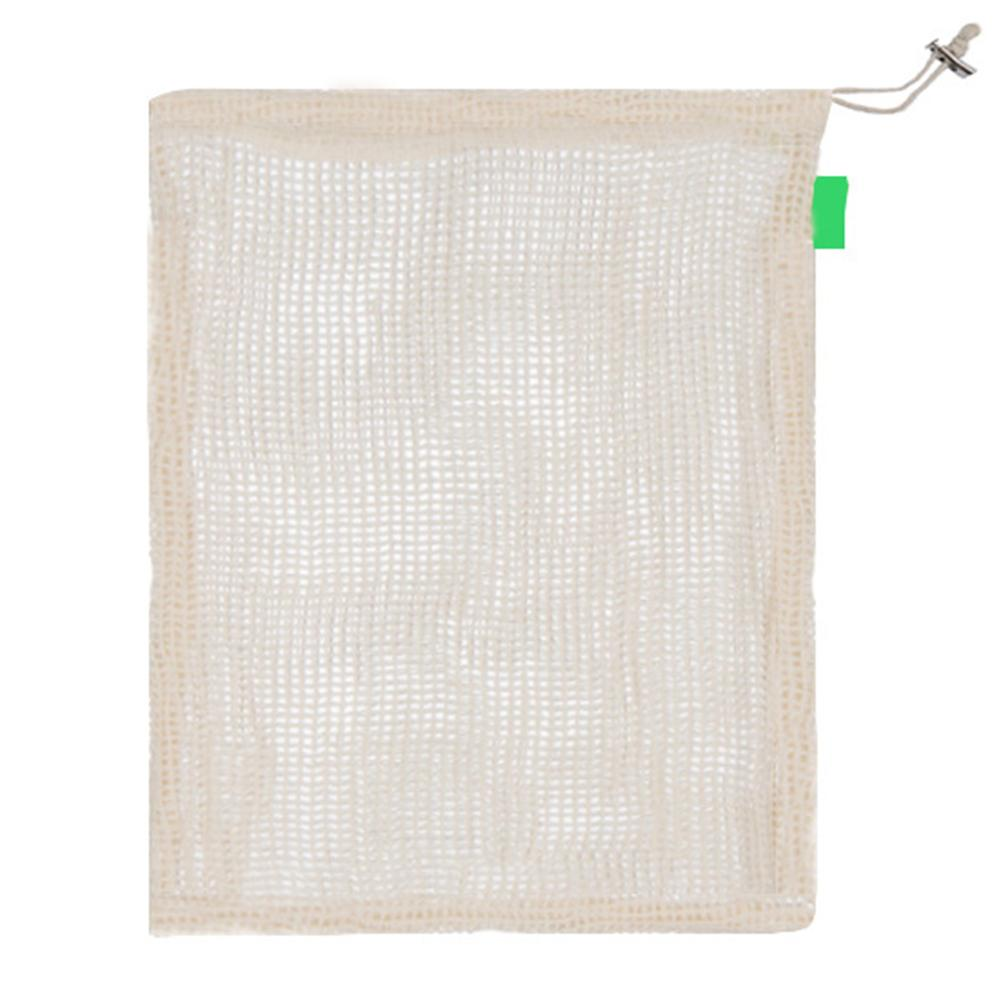 9PCS Cotton Fruit Vegetable Storage Bag Degradable Organic Cotton Mesh Bag Breathable And Washable Versatile Quick Delivery in Grow Bags from Home Garden