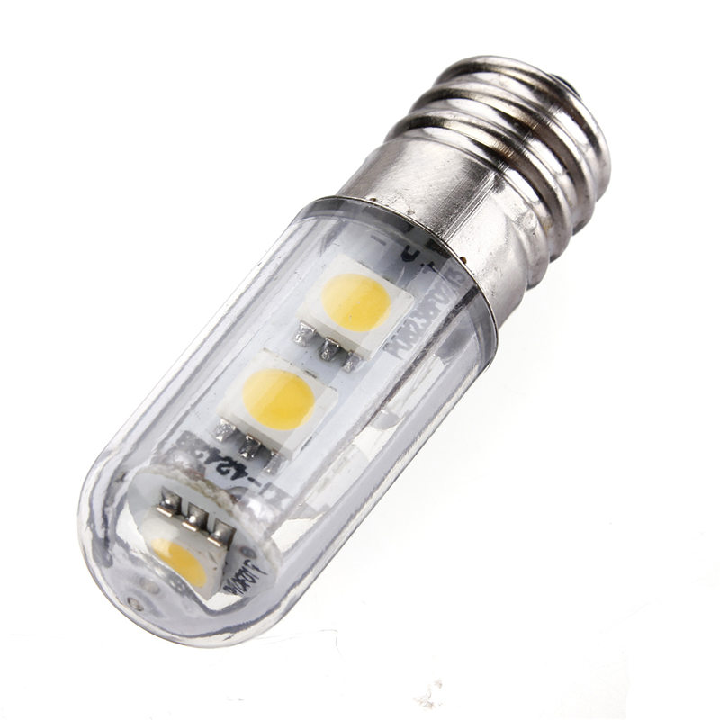 E14 1W LED Light Bulb 5050SMD 7led Corn Lights Fridge Candle Light Spotlight Bulb Energy Saving Led Lamp Lighting AC220-240V