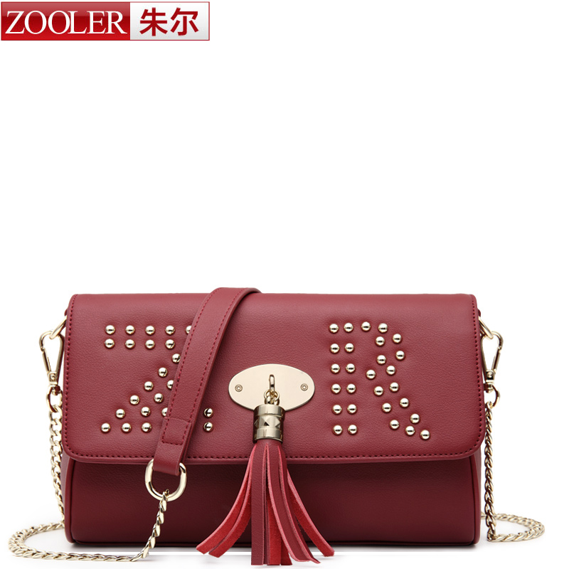 ФОТО ZOOLER Bags handbags women famous brands superior Cowhide soft leather women shoulder bag sky blue women messenger bag #2306