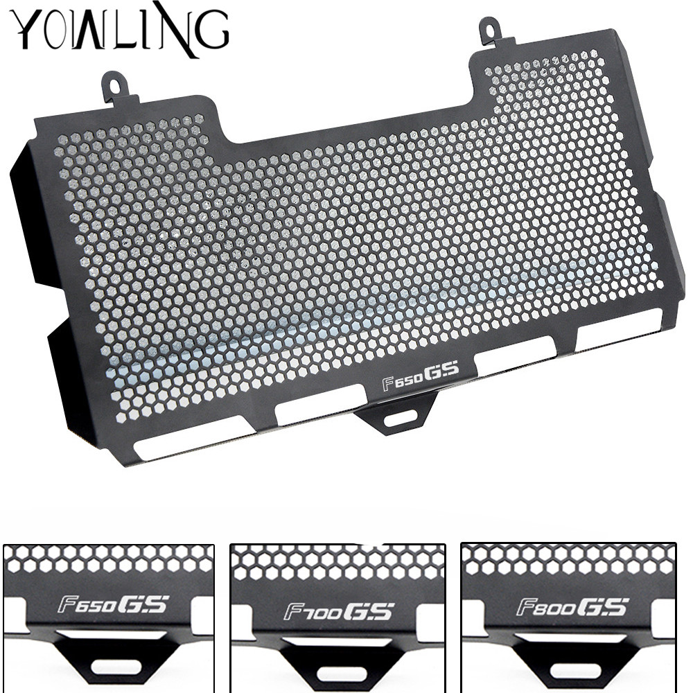 Stainless Steel Motorcycle Radiator Guard protector Radiator Grill Cover For BMW F650GS F700GS F800GS 2008-2015 F800R 2015-16 motorcycle radiator guard protector grille grill cover stainless steel radiator grill cover for ducati monster 821 2014 2016